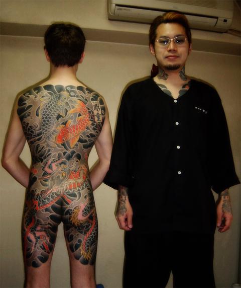 horishige echoes tattoo